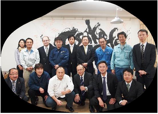経営者19名で発足した大阪ケイオス。完全に民間の企業連携体です。